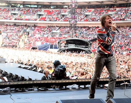 Kasabian Live Earth London